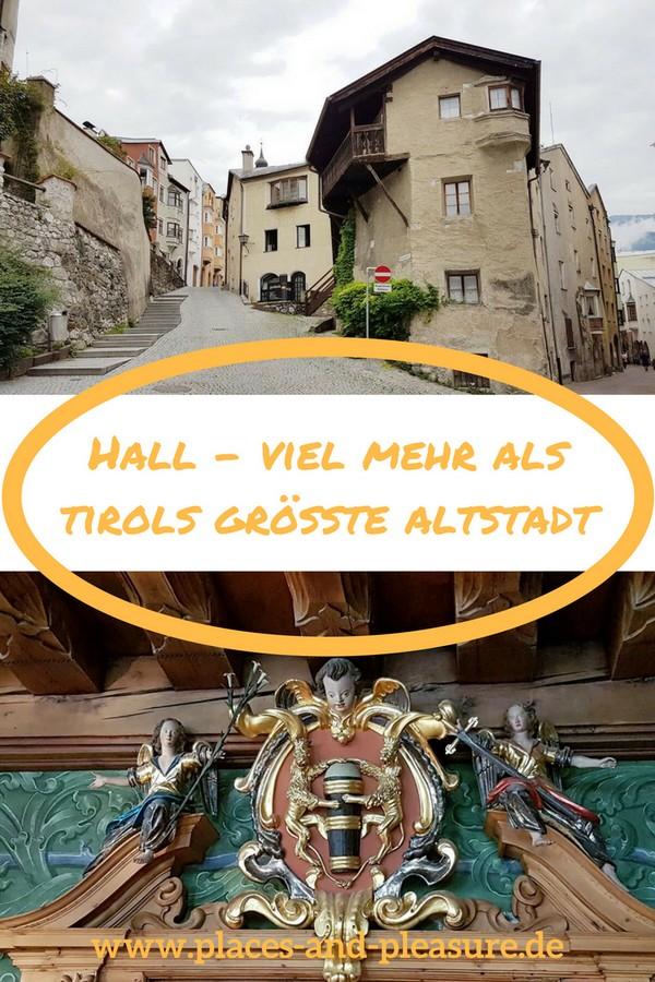 (Werbung - Bloggerreise) Pracht und Reichtum aus vergangenen Tagen, der Ursprung des Dollars und tolle Ausflugsziele in der Umgebung. Lies, was Hall in Tirol zu bieten hat. #Tirol #Reisen #Hall