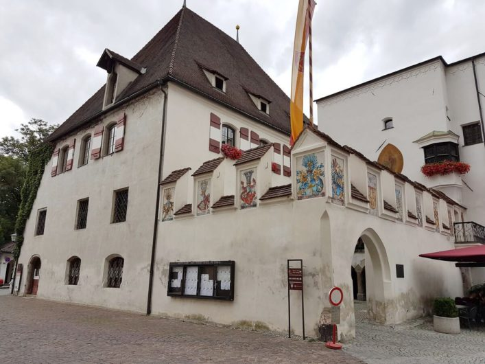 Rathaus von Hall in Tirol