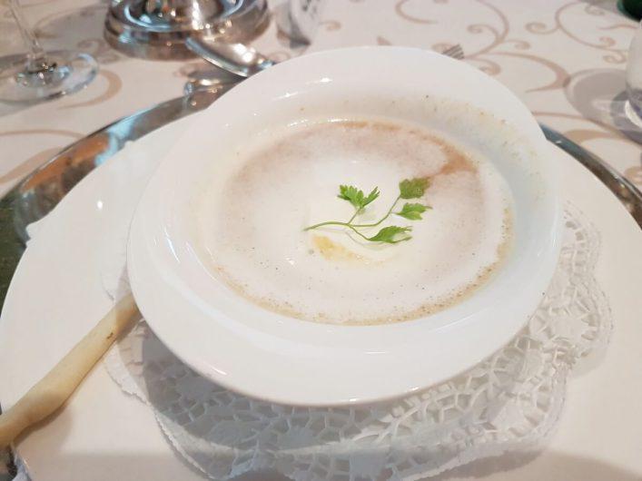 Tomatensuppe als Vorspeise im Hotel Sonnbichl