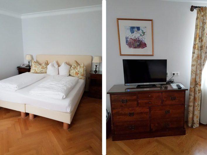 Zimmer im Schlosshotel Goldener Engl in Hall in Tirol