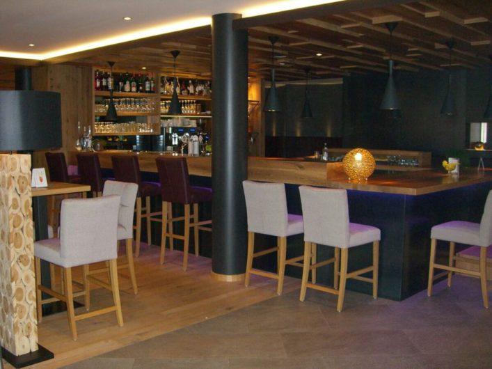 Bar im Hotel Sunnwies in Schenna