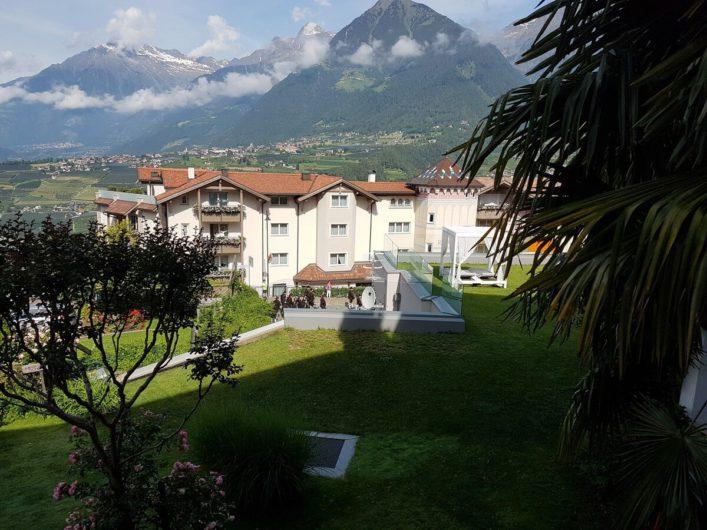 Ausblick Richtung Dorf Tirol