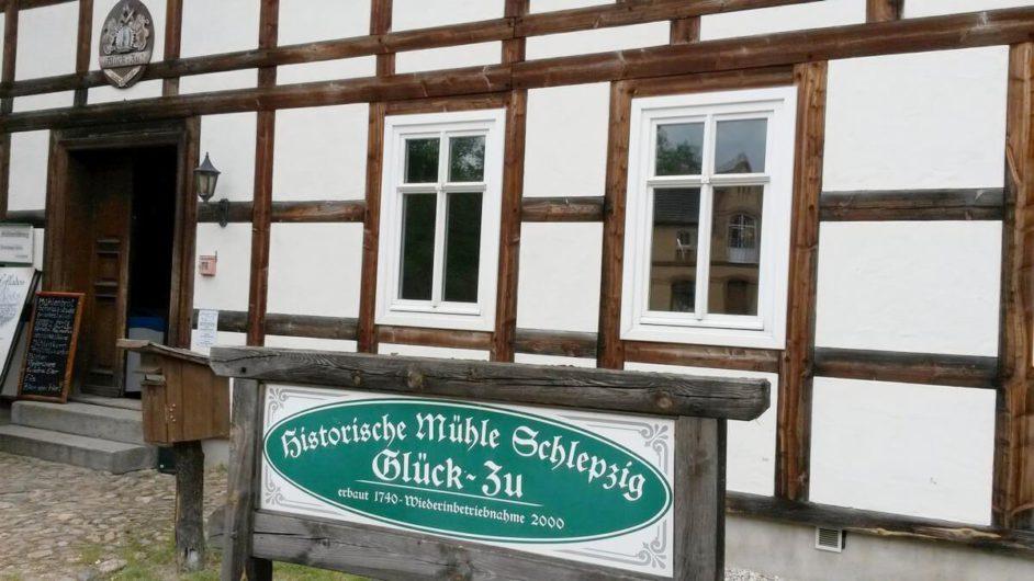Historische Mühle in Schlepzig