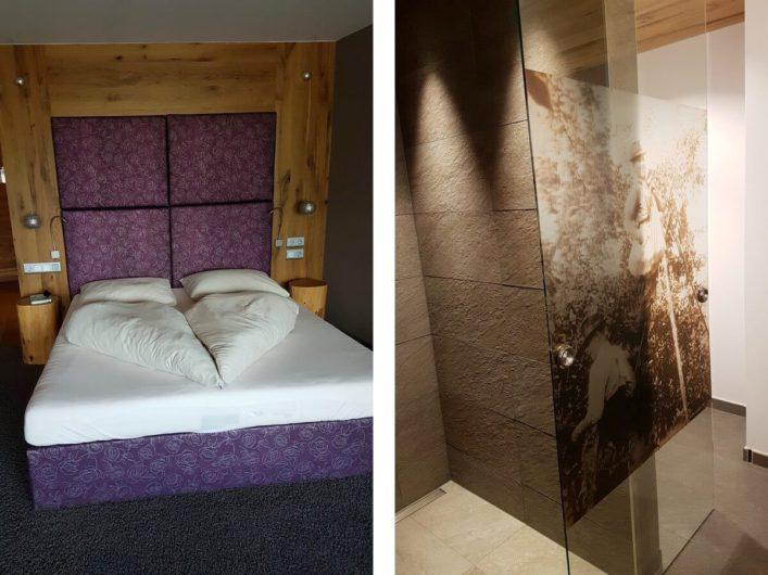 die Meran Suite im Hotel Sunnwies in Schenna