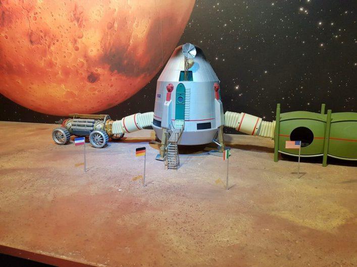 Mondlandefähre bei Airbus Defense & Space in Bremen