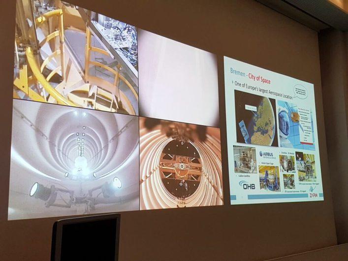 Vortrag am ZARM in der Raumfahrtstadt Bremen