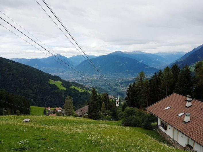 Verdinser Seilbahn in Obertall