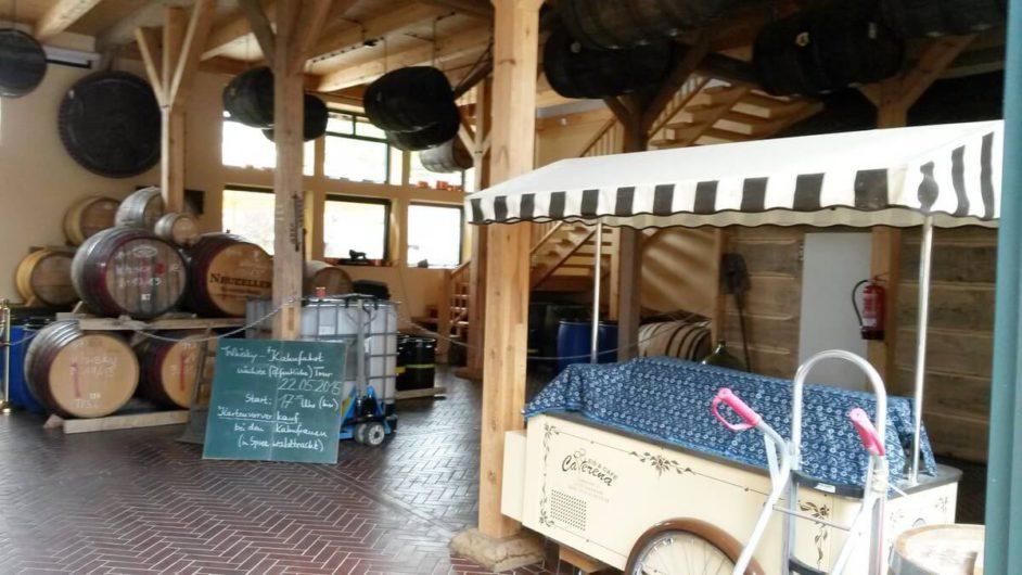 im Verkaufsraum der Spreewood Distillers