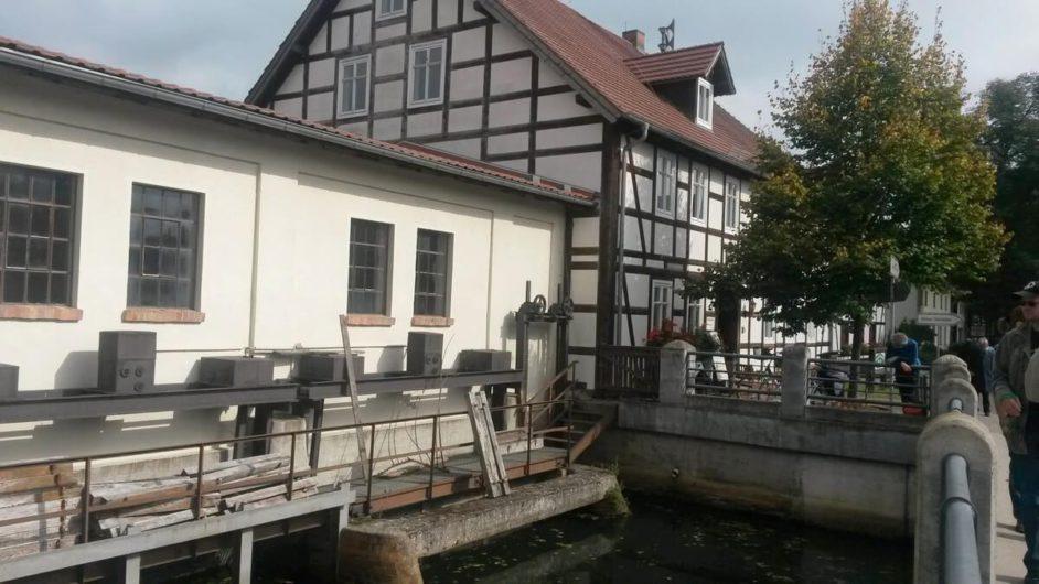 Staustelle Eisenhammer in Schlepzig