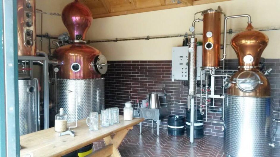 Brennraum der Spreewood Distillers
