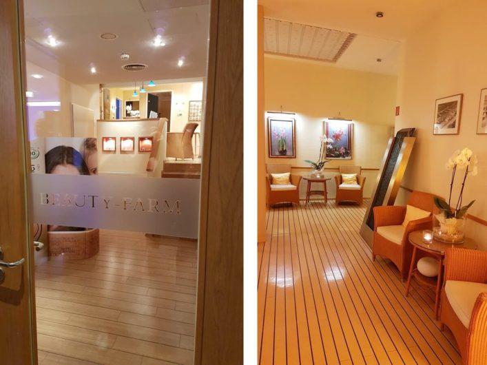 Beauty- und Spa-Bereich des Hotel Neptun