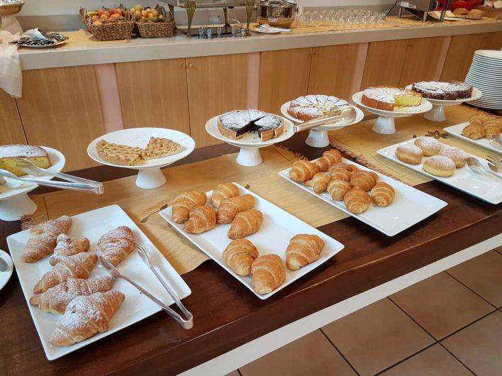 Frühstücksbuffet in der Tenuta Moreno