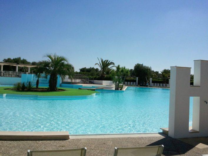 Pool der Tenuta Moreno in Apulien