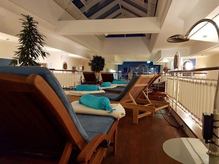 Ruhebereich im Thalasso-Spa des Hotel Neptun