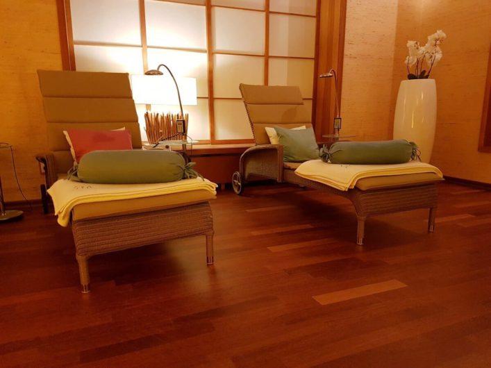 Ruheraum im Wellness-Bereich vom Hotel Neptun in Warnemünde