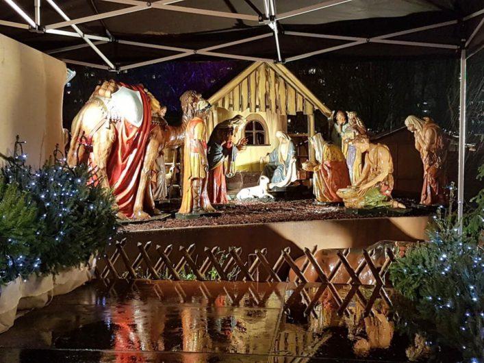 Krippe auf der Berliner Weihnachtszeit