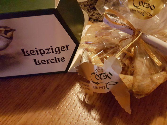Leipziger Lerche mit Verpackung