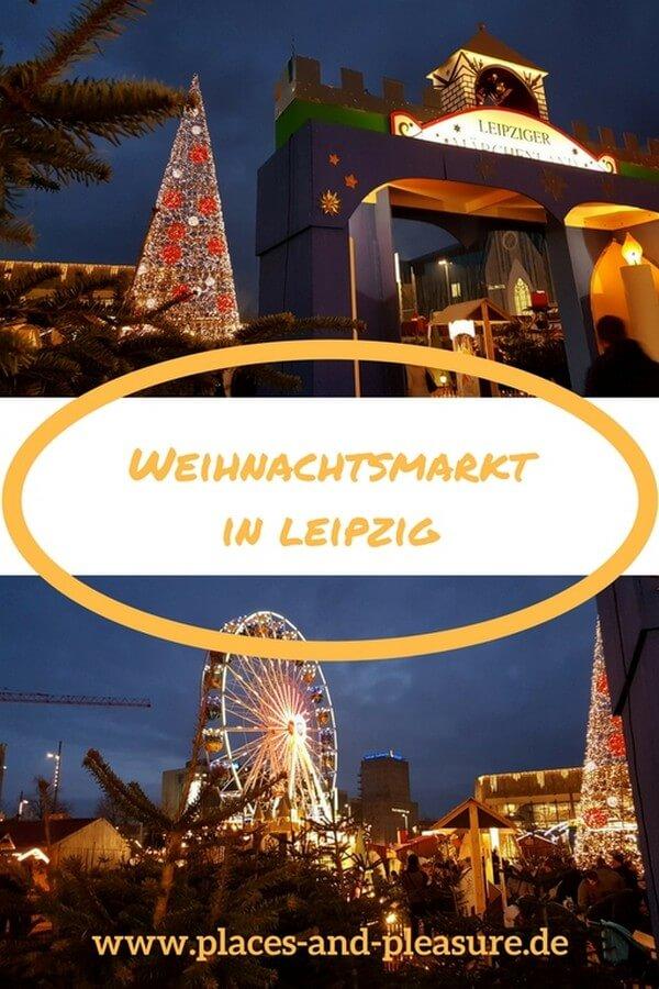 Der Duft von gebrannten Mandeln und Glühwein, dazu hübsch dekorierte Buden - lass dich begeistern von der Atmosphäre auf dem Weihnachtsmarkt in Leipzig. #Leipzig #Weihnachtsmarkt #Städtereise