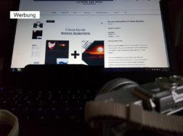 """Blick auf den Online-Shop von Lichter der Welt mit E-Book-Bundle """"Bessere Reisefotos"""""""