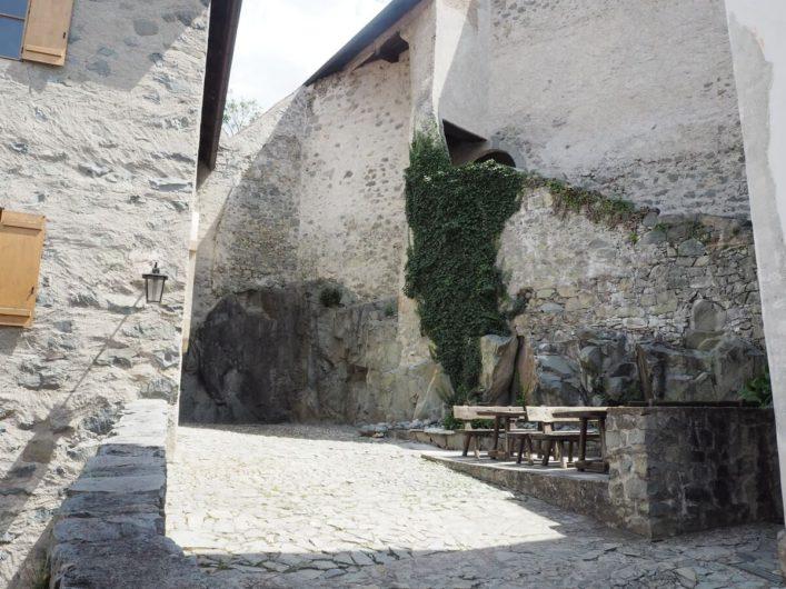 Wege in der Klosteranlage von Kloster Säben