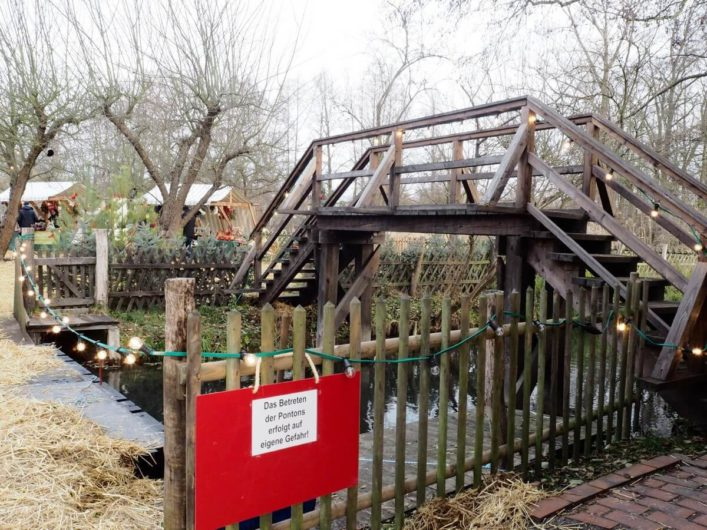 Brücke im Freiluftmuseum Lehde