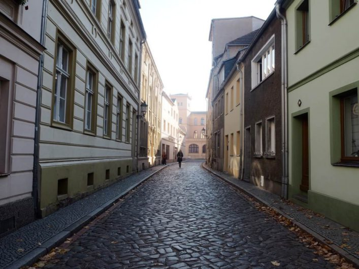 Gasse in Luckau