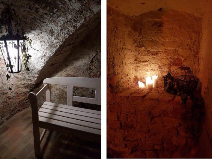 Kellergewölbe in Luckau