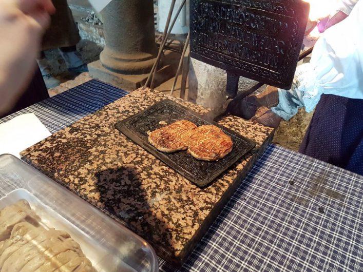 Klemmkuchen in der Form