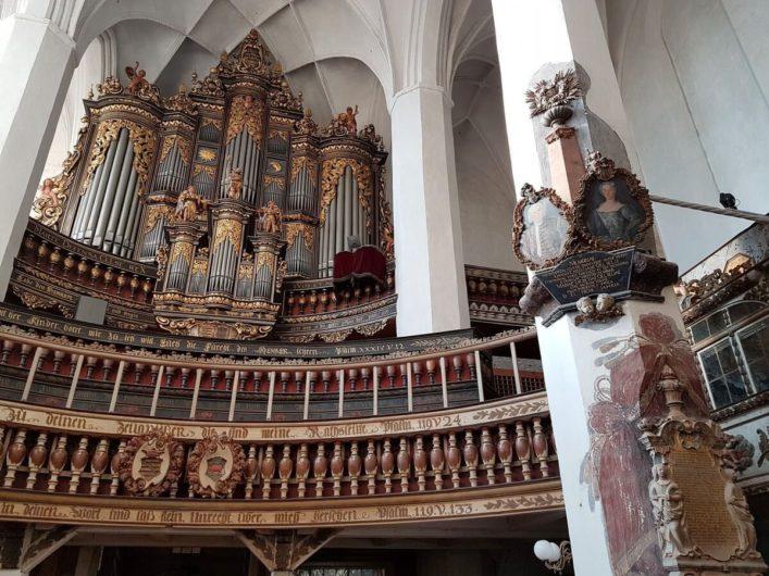 Donat-Orgel in der Nikolaikirche Luckau