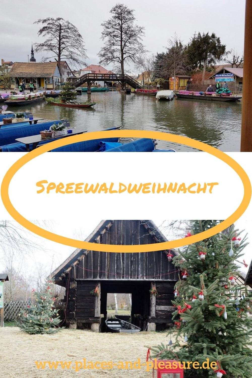(Werbung/Bloggerreise) Mit dem Kahn zum Weihnachtsmarkt, das gibt es nur zur Spreewaldweihnacht. Mehr zum Erlebnis erfährst du bei mir im Blog. #Spreewald #Weihnachtsmarkt #Reisetipp