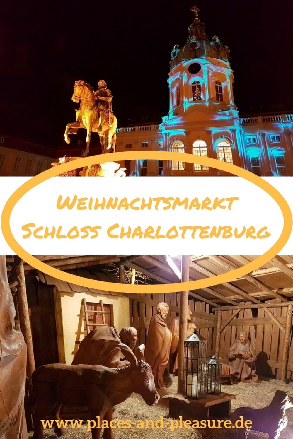 Weihnachtsmarkt vor dem Schloss Charlottenburg: prachtvolle Kulisse, Kunsthandwerk und kulinarische Leckereien. Eines meiner Highlights unter den Berliner Weihnachtsmärkten. #Weihnachtsmarkt #Berlin #Reisetipp