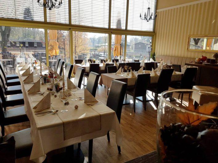 Gastraum im Gasthaus Schillebold in Peitz
