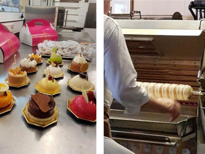 Törtchen aus Luckau und Baumkuchen aus Cottbus