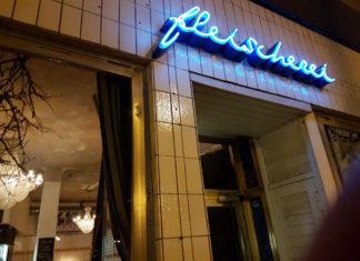Außenansicht des Restaurants Fleischerei in Berlin