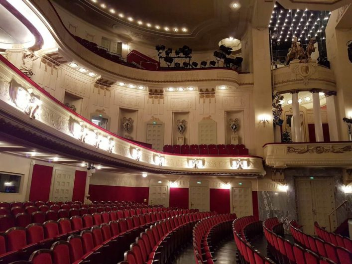 Blick in das Staatstheater Cottbus
