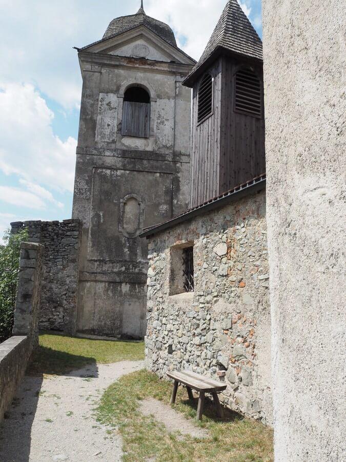 auf der Klosteranlage Säben