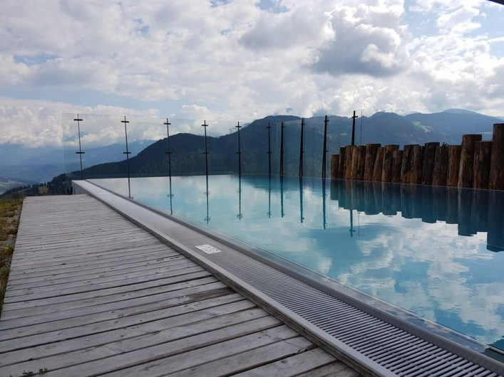 Infinity-Pool vom Hotel Gnollhof