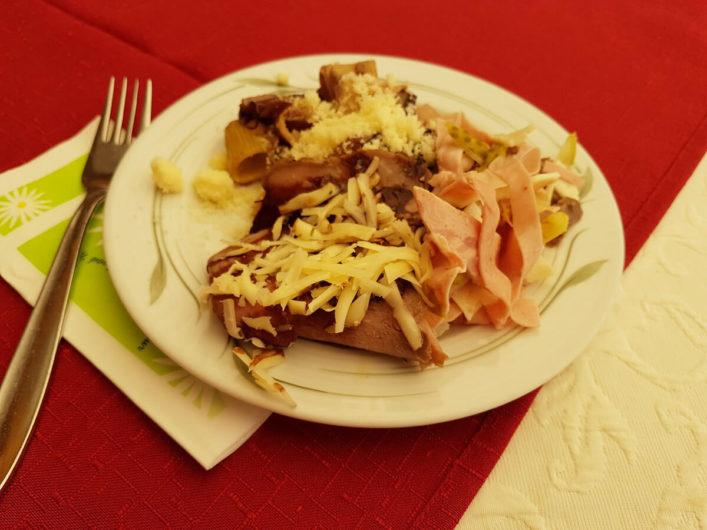 Mittagsimbiss im Hotel Gnollhof