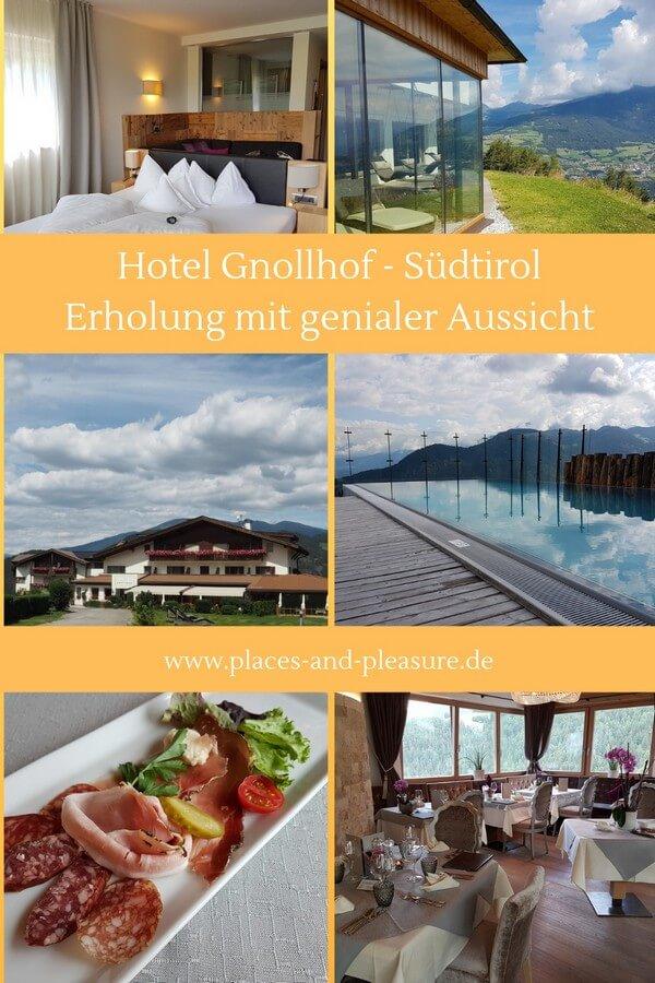 Ruhig gelegen und mit herrlichem Blick auf die Geislerspitzen ist der Gnollhof eine gute Adresse für Urlaub in Südtirol. Wandern, Wellness und Genuss im Eisacktal. #Eisacktal #Villnößtal #Südtirol #Hoteltipp