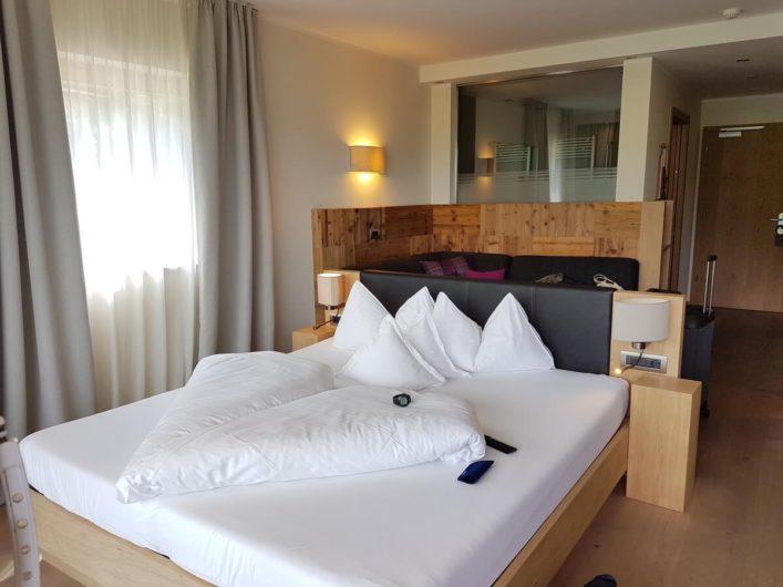 im Doppelzimmer Alpin des Hotel Gnollhof