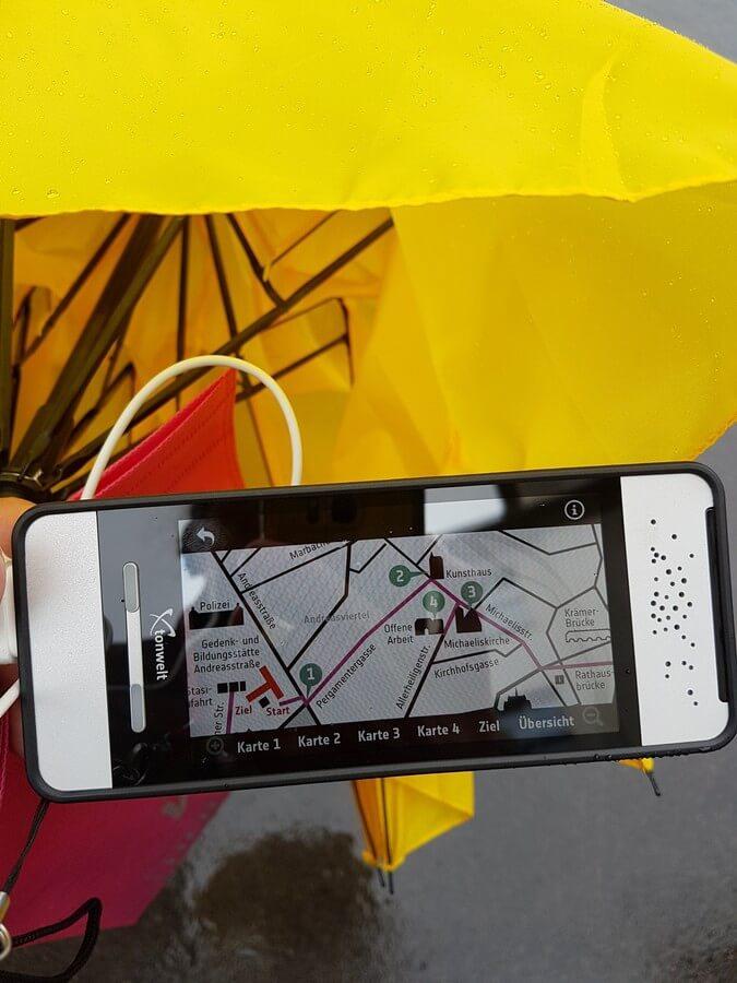Erfurt erleben auf den Spuren der friedlichen Revolution mit dem Video-Guide