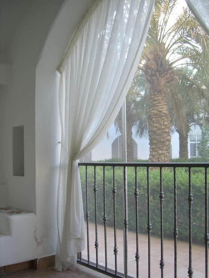 Blick aus dem Zimmer in der Tenuta Moreno