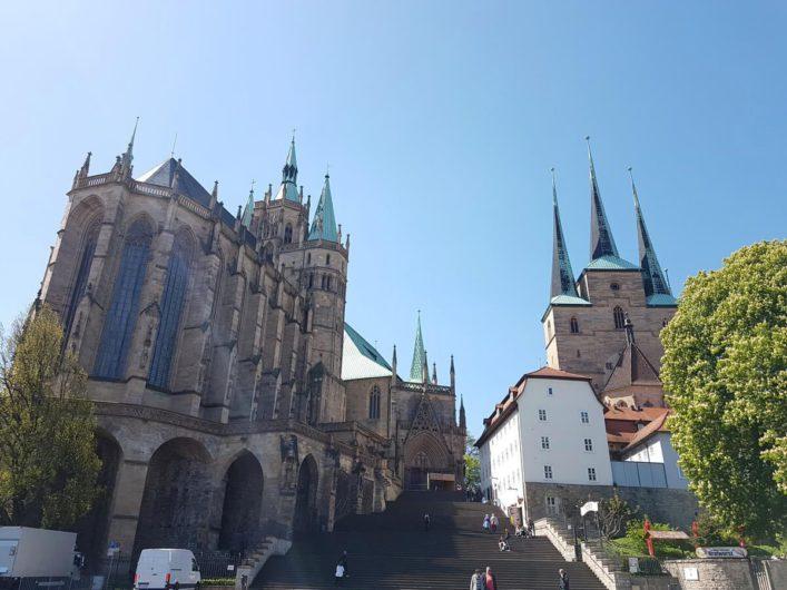 Domberg mit dem Dom St. Marien und St. Severi