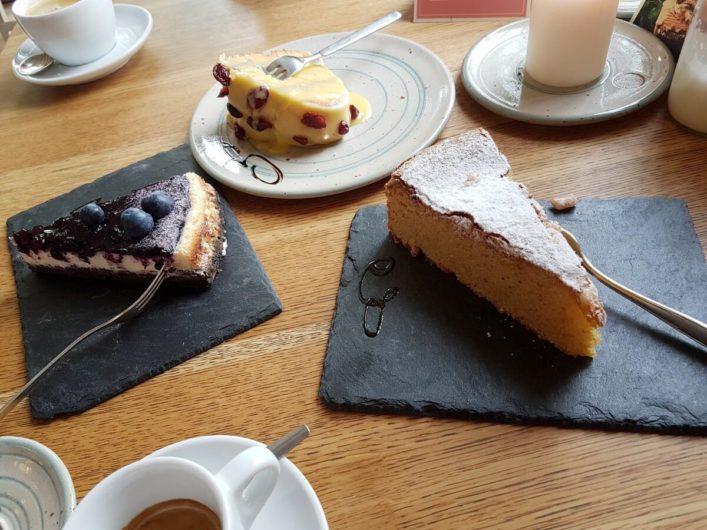 Kuchen in der Konditorei Goldhelm