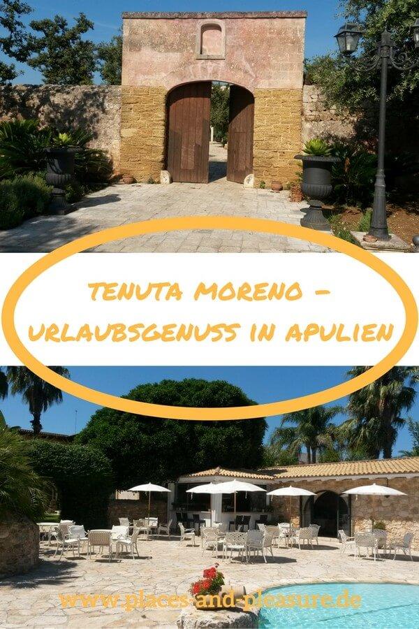 Du suchst ein gutes Hotel für deinen Urlaub in Apulien? Im Landesinneren bei Mesagne kann ich die Tenuta Moreno empfehlen. Leckeres Essen, ein guter Service, schöne Zimmer und einen tollen Pool – all das findest du dort. Und mit dem Mietwagen erreichst du schnell die Autobahn für deine Ausflüge ans Meer oder zu den kulturellen Schätzen der Region. #Apulien #Italien #Hoteltipp