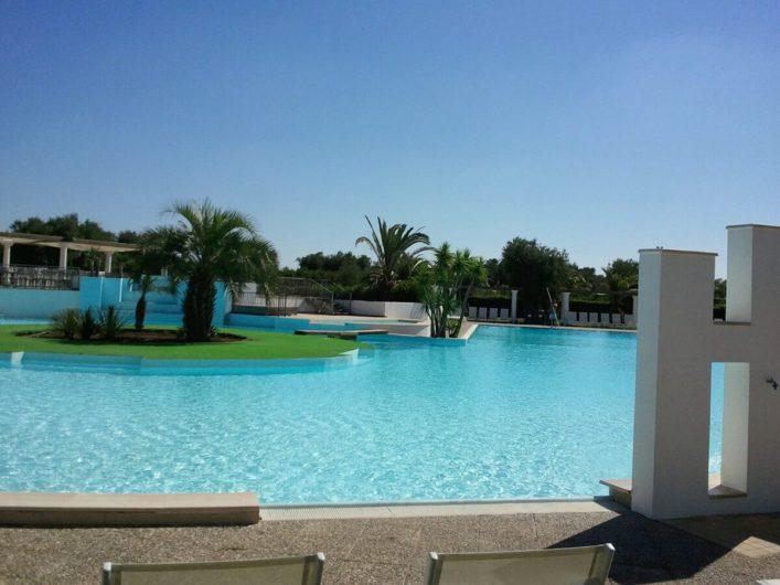 Swimmingpool in der Tenuta Moreno
