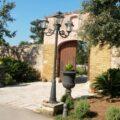 Eingangstor zum Orangengarten der Tenuta Moreno