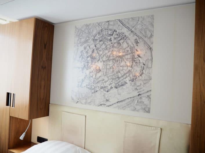 Blick in ein Zimmer im Radisson Blu Erfurt