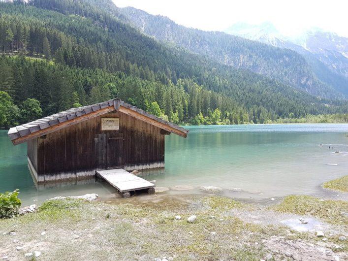 Bootshäuschen am Gasthof Jägersee