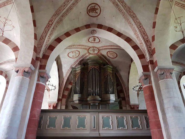 Orgel in der Kirche von Wormbach im Sauerland